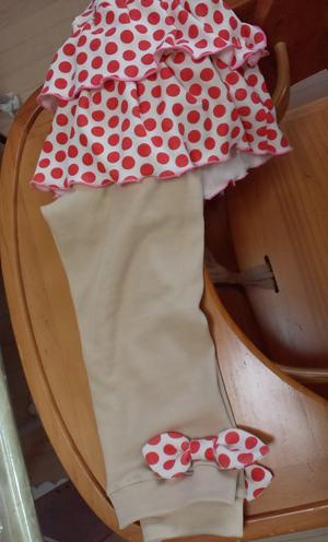 昭和レトロな感じのスカート付きスパッツ